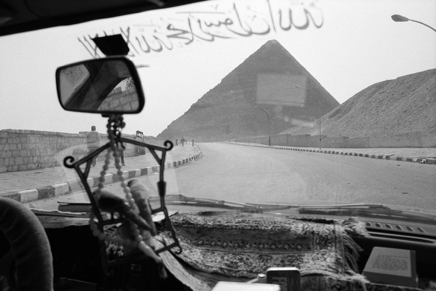 denis-roche 23 février 1985. Égypte, Pyramide de Khéops